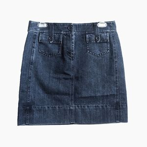 ANN TAYLOR LOFT | DENIM SKIRT WITH POCKETS